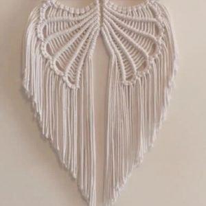 DIY Macrame Angel Wings